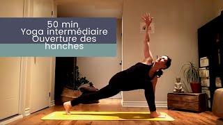 Yoga dynamique intermédiaire pour l'ouverture des hanches❤️🧘