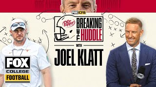 Breaking the Huddle with Joel Klatt | Week 1 | CFB ON FOX