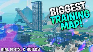 The BIGGEST Training Map! Aim, Edits, and Builds (Fortnite Creative)