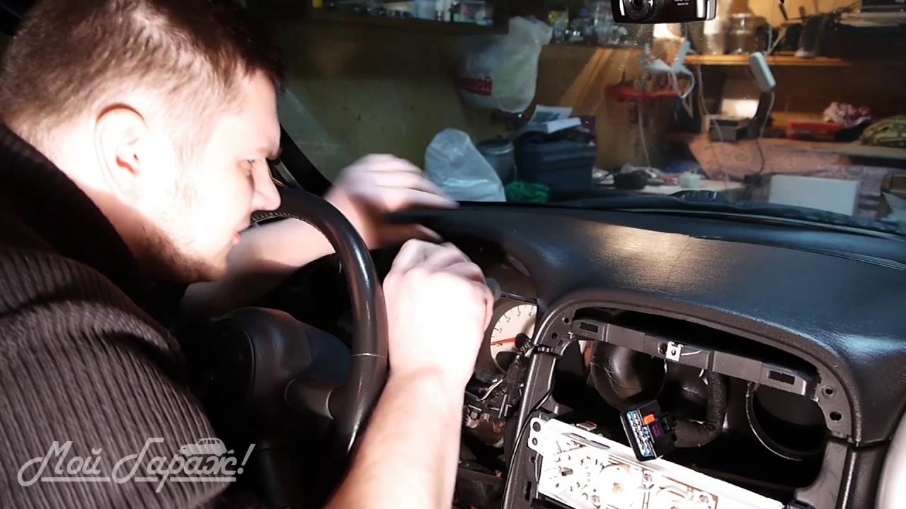 Автотема. 08. Замена подсветки приборной панели на Chrysler PT Cruiser 2000-2005 дорестайлинг.