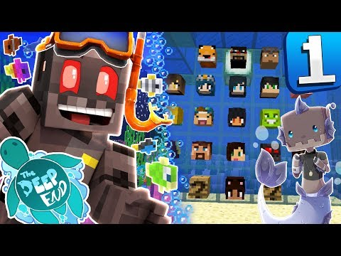 Minecraft The Deep End Episode 1: Aquatic Adventure!