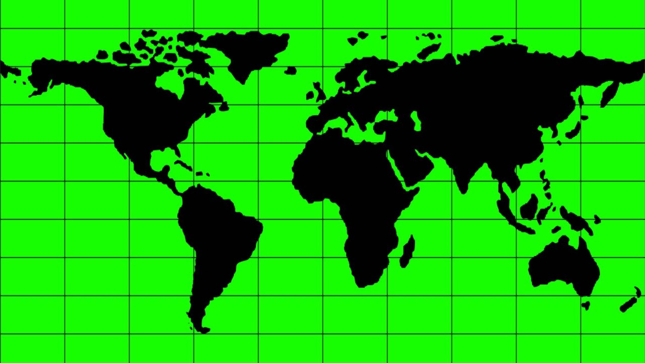 World map in green screen free stock footage youtube world map in green screen free stock footage gumiabroncs Gallery