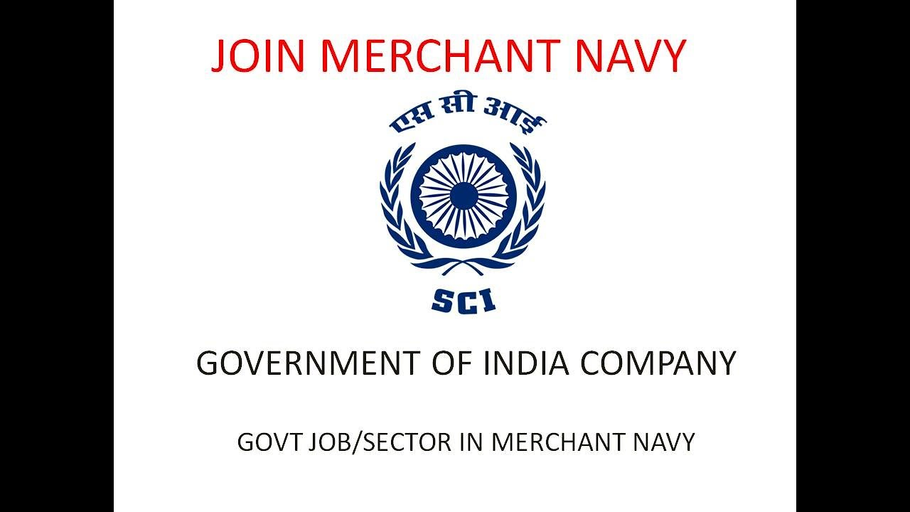 GOVT JOB IN MERCHANT NAVY/ Shipping Corporation of India DECK CADET  ENTRANCE TEST 2019