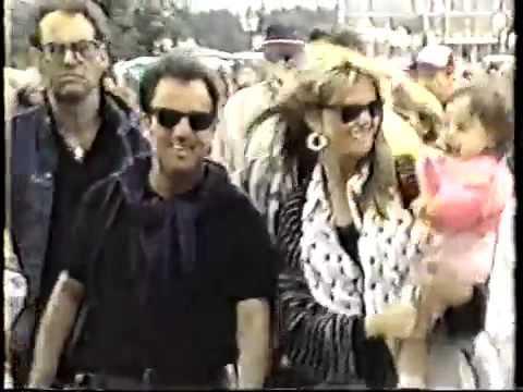 Billy Joel  KMSP TV   Billy in Minneapolis, 1990