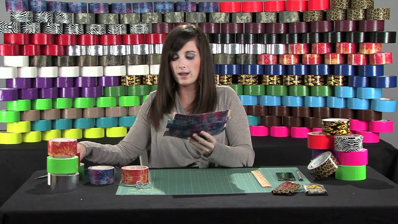 How to Create a Duck Tape Phone Case - YouTube