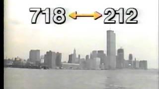 New York City PSA, New Area Codes, 1984