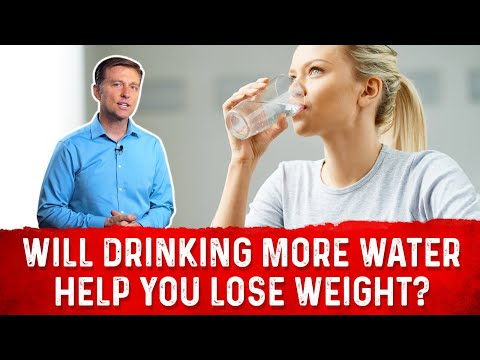 Can Drinking More Water Help You To Lose Weight?: Dr.Berg