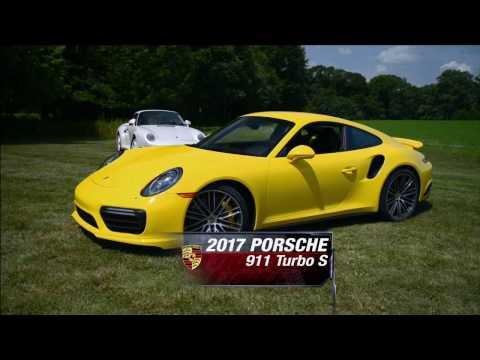 MotorWeek Season 36, Ep. 1 - 2017 Porsche 911 Turbo S Vs Porsche 959 & 2017 Nissan Armada