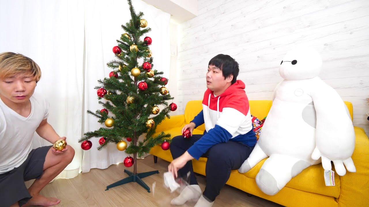 今年もクリスマスの思い出語りながらツリーの飾り付け!