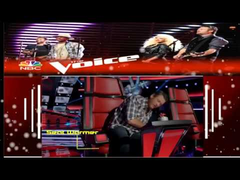 The Voice 2015   Blake Test Drives The New Chairs Digital Exclusive