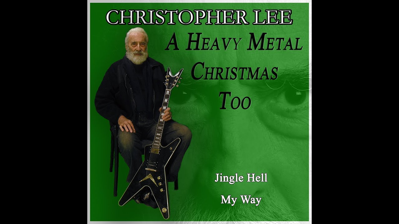 Christopher Lee. A Heavy Metal Christmas Too - YouTube