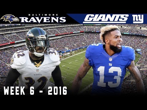 Odell & the Kicking Net Part 3! (Ravens vs. Giants, 2016)