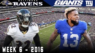 Odell & the Kicking Net Part 3! (Ravens vs. Giants, 2016)