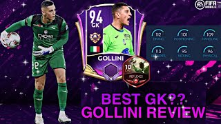 Best gk in fifa mobile 21? gollini review! marquee stars gameplay & review   21