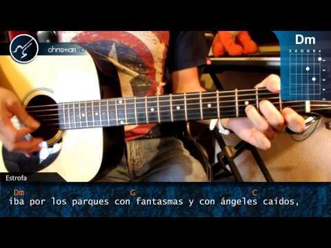 Como tocar Eres Mi Religion MANA en Guitarra Acustica (HD) Tutortial Guitarra