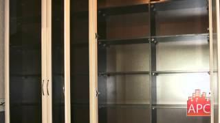Книжный корпусной шкаф образец