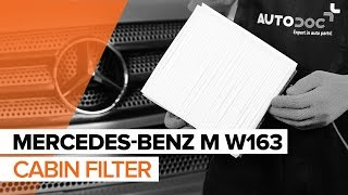 Fitting Generator MERCEDES-BENZ M-CLASS (W163): free video