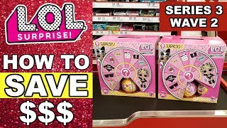 How to Save Money on LOL Surprise Confetti Pop! | L.O.L. Series 3 Wave 2 Target Price Match