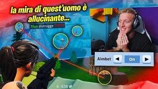 THE TRY THAT TFUE IS THE AIMBOT HUMAN ON FORTNITE! It has an impressive aim! 😲
