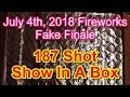 July 4th, 2018 Show - Fireworks Fake Fin