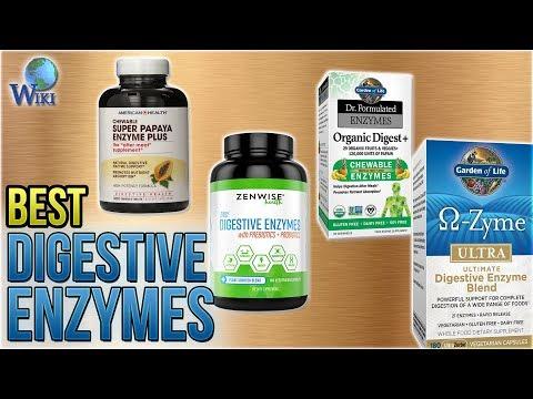 9 Best Digestive Enzymes 2018
