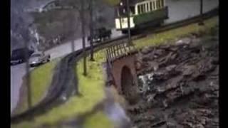 MEC Wuppertal e.V.: Die Barmer Bergbahn im Modell