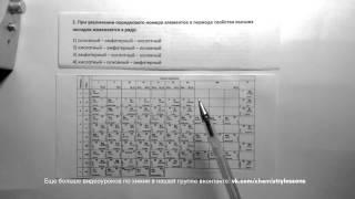 ЕГЭ 2015 год по химии, задание 2.