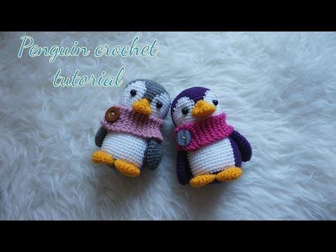 Penelope The Penguin: Free Crochet Penguin Amigurumi Pattern     360x480