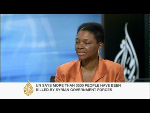 The UN under-secretary-general for humanitarian affairs speaks to Al Jazeera