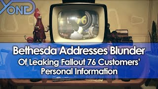 Bethesda Addresses Blunder of Leaking Fallout 76 Customers' Personal Information