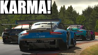 Yep, Karma is a thing! | Top Split 4.0k iRacing IMSA GTE at Spa | Porsche 911 RSR