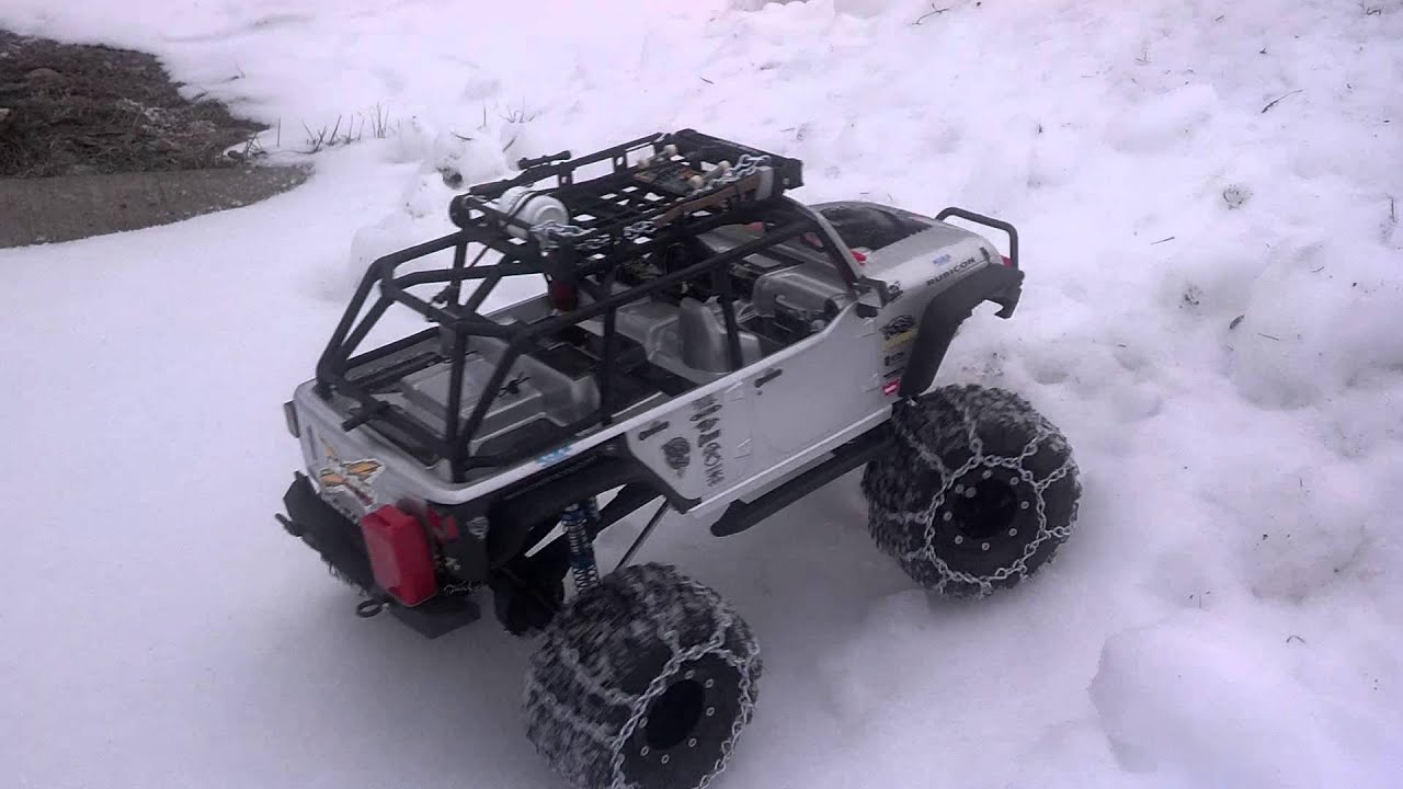 New Axial 2012 Jeep Rubicon Decked Out Youtube