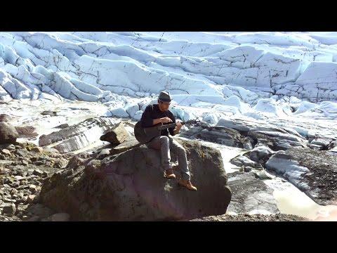 Trace Bundy - Sigur Rós - Untitled #3 - on a glacier in Iceland. Fingerstyle guitar cover.