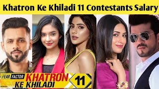 Real Salary of Khatron Ke Khiladi 11 Contestants & Host | Rohit Shetty, Nikki, Rahul Vaidya, Anushka