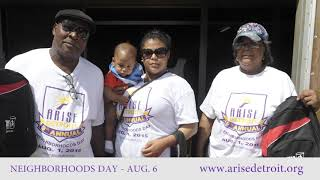ARISE Detroit! Neighborhoods Day 1 Minute Spot 2016