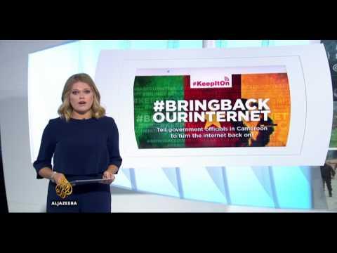 Cameroon Internet Restored #BringBackOurInternet #FreeAllArrested