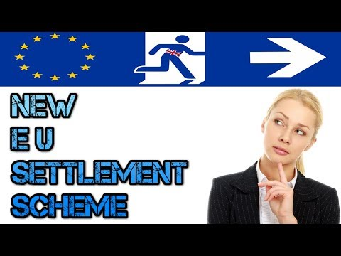 EU SETTLEMENT SCHEME: LATEST UPDATE  |BREXIT|NO DEAL|UK VISA|IMMIGRATION|2018 HD
