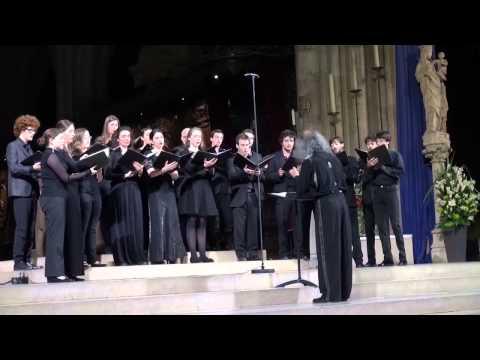 Concert à Notre Dame de Paris. Chant grégorien et polyphonies.
