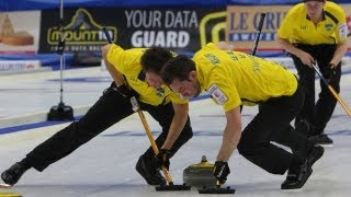 CURLING: Euro Chps 2012 - Men Page 1/2 SWE - CZE