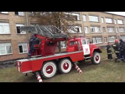 Как проходила эвакуация с рухнувшей Васильковской школы.