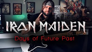 Iron Maiden - Days of Future Past (SOLO COVER)