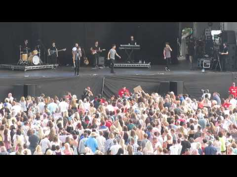 Union J singing Carry You at Leicester Music Festival 2014 Live