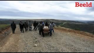 Lonmin-bloedbad: Begrafnis in die Oos-Kaap