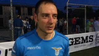 Cotton Club 0-1 SS Lazio C8 | Play-Off - Finale Scudetto | Intervista - Pentassuglia (LAZ)