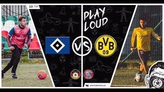 amateur Bundesliga   Обзор матча. Гамбург - Боруссия Дортмунд. 10 тур