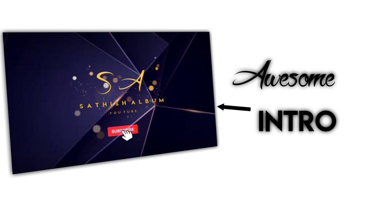 New Intro ||🔥🔥🔥 Awesome intro make🔥🔥 || Kinemaster Tutorial || Tube tech Editing