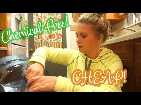 HOW I CLEAN OUR 5 GALLON WATER JUGS | CHEMICAL FREE AND CHEAP!!