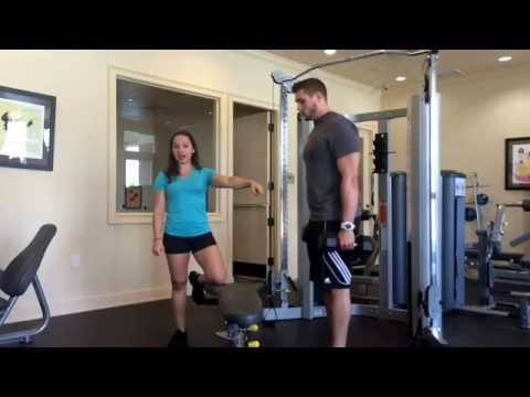 How To Do Weighted Step Ups With Dumbbells-Ashley Drummonds