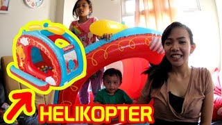 UNBOXING Mainan Helikopter Fisher Price - Helikopter Mainan Fisher Price