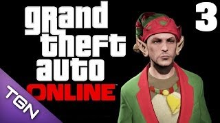 grand theft auto online let s play thai 03 แซนต าแจกต ง by lung p jerry